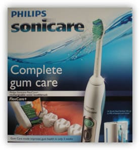 Sonicare FlexCare toothbrush