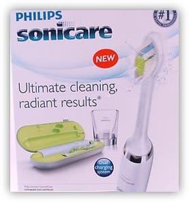 Sonicare diamond clean toothbrush